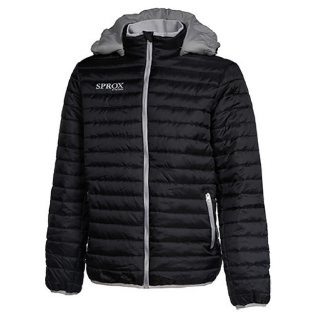 PADDED JACKET WITH REMOVABLE HOOD SPROX135